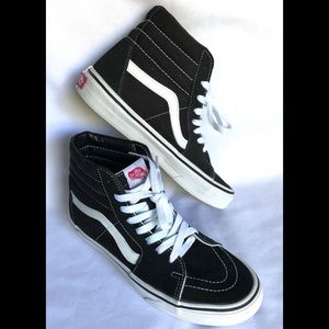Vans Off The Wall Skateboard Sneakers black size 7